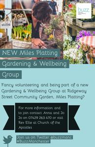 Gardening & Wellbeing Group - Miles Plat