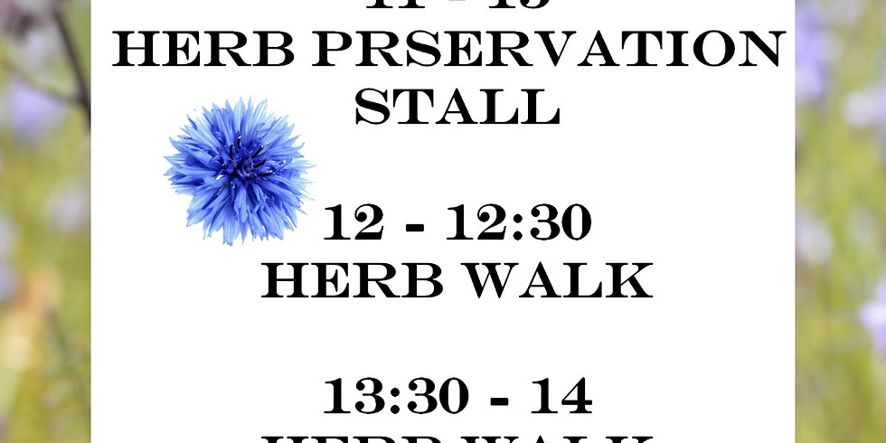 The Herb Society @ Wild Side Festival