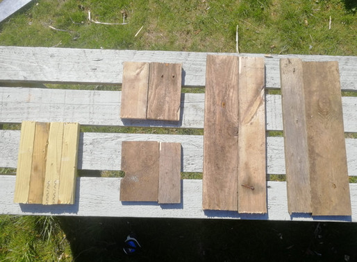 The Hungry Gap & Building a Herb Planter!