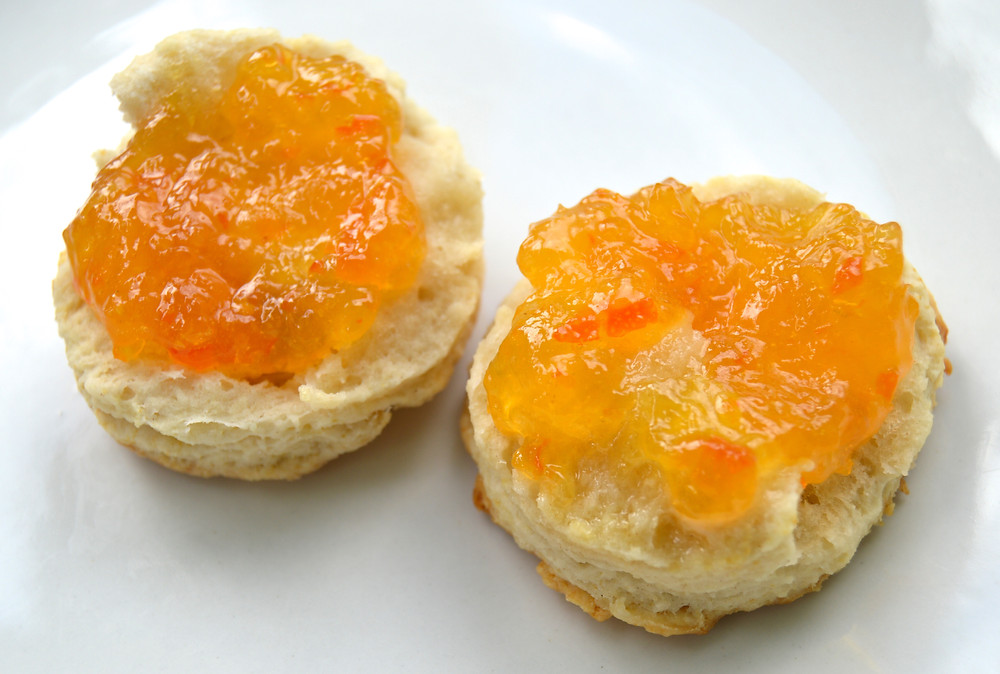 Marmalade on a Biscuit