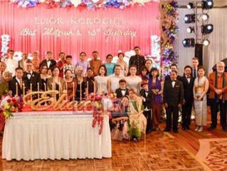 Kamboçya kraliyet ailesi ilk Bat-Mitsvayı kutladı.