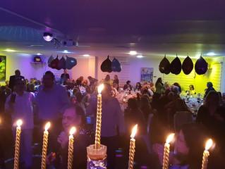 Hanuka Bayramı İYT Lokalinde coşku ile kutlandı