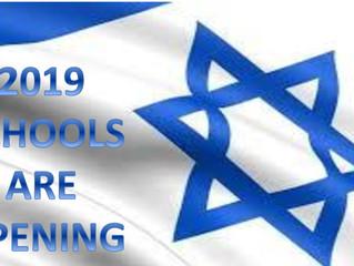 Okullar açılıyor.