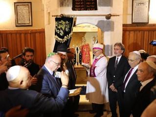 Gaziantep Sinagogu 40 yıl sonra Hanuka Bayramı'nda açıldı
