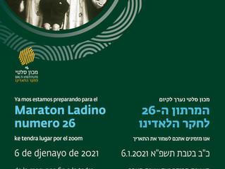 Ladino Marotonu'na davetlisiniz...
