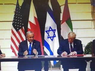 İsrael, BAE ve Bahreyn normalleşme anlaşmasına imza attı..