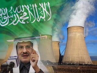 Suudi Arabistan uranyum zenginleştiriyor.