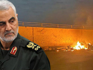 Kasım Süleymani ABD'nin Bağdat'ta düzenlediği saldırıda öldürüldü.