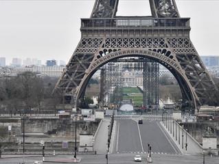 Fransa'da cuma günü başlayan sokağa çıkma yasağı 1 aralığa kadar sürecek