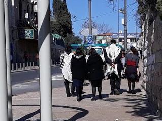 Üç dinin gölgesinde huzurlu bir ירושלים rüyası...