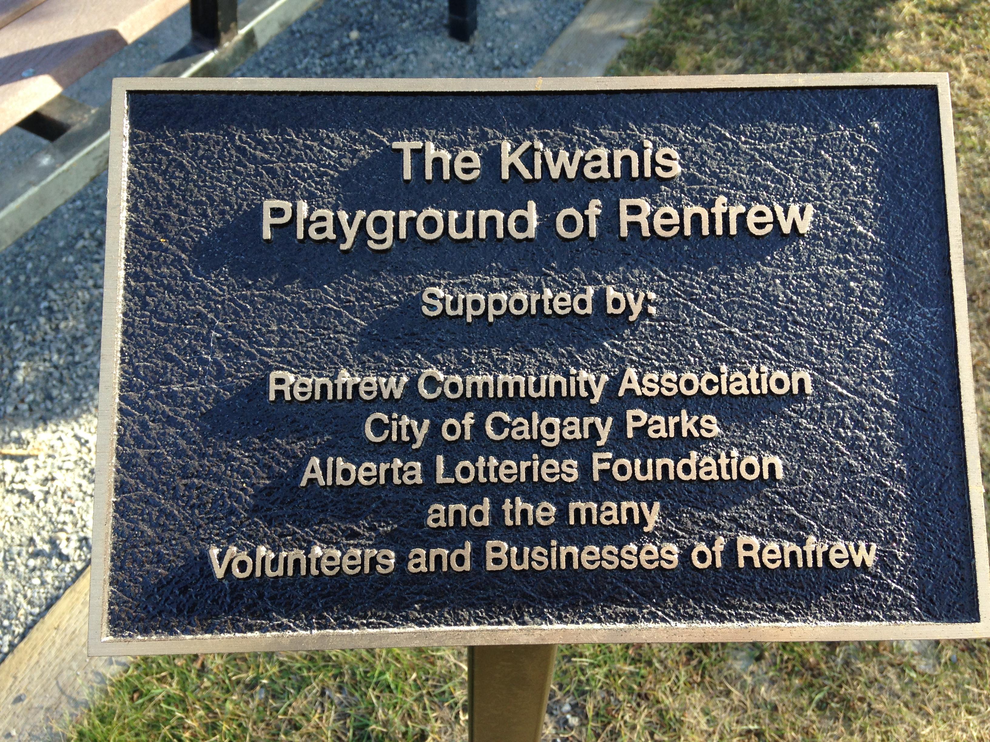 Renfrew Playground 2