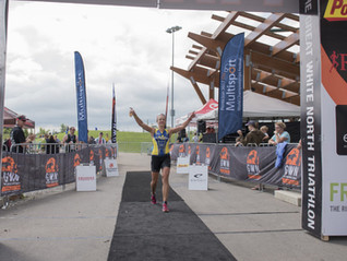 Great White North Triathlon: For the Win!