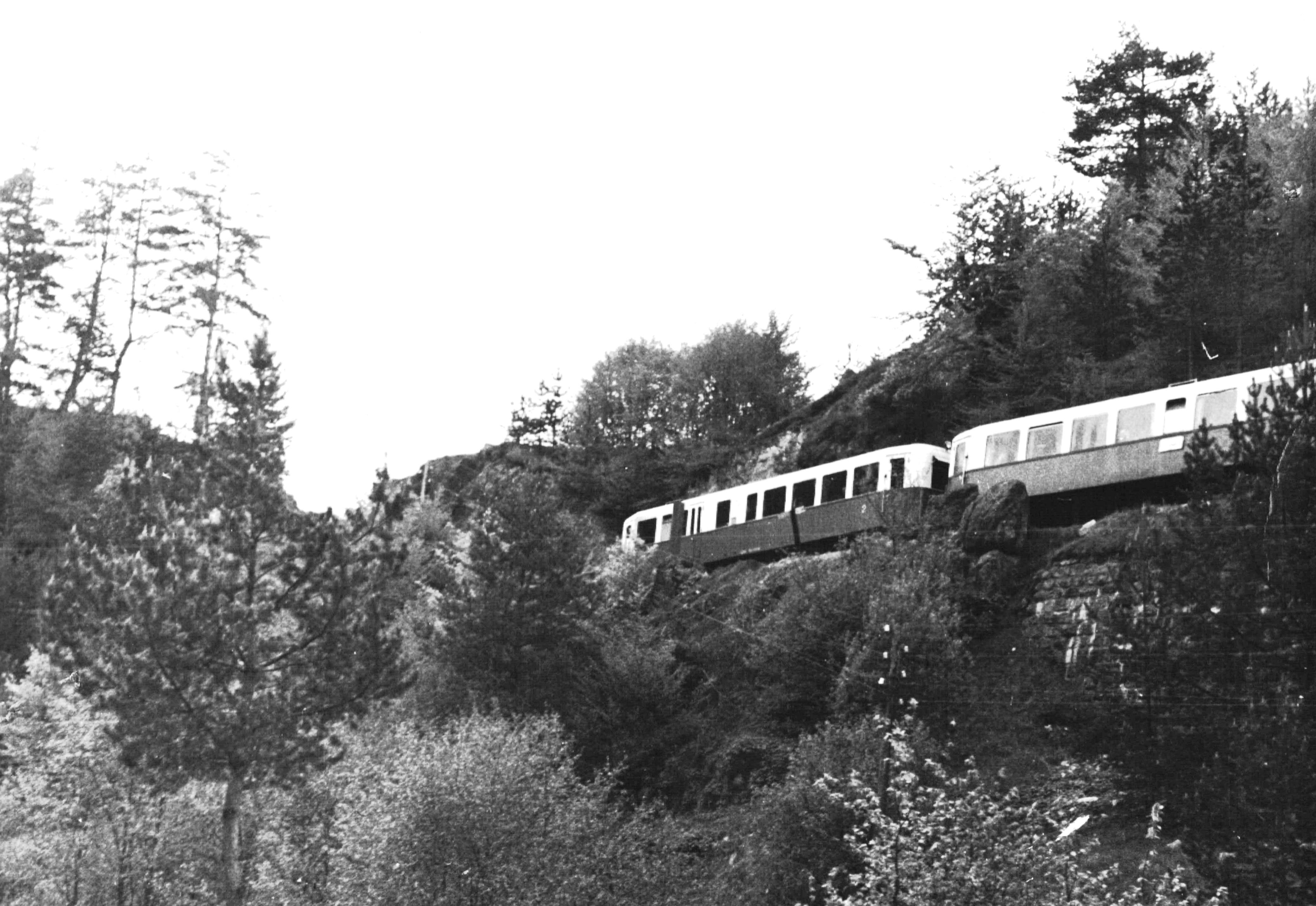 Мотрисен влак, 50-те години