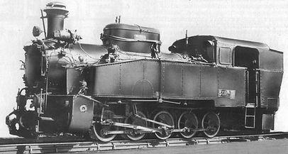 501.76 локомотив парен теснолинейка септември добринище завода производител бдж