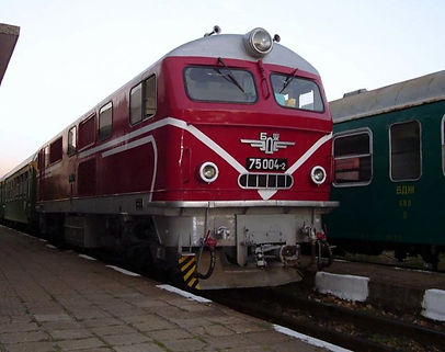 75 004 locomotive diesel engine septemvri dobrinishte narrow gauge