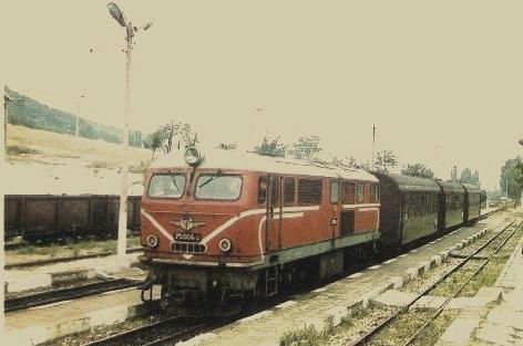 Влакът от Пазарджик
