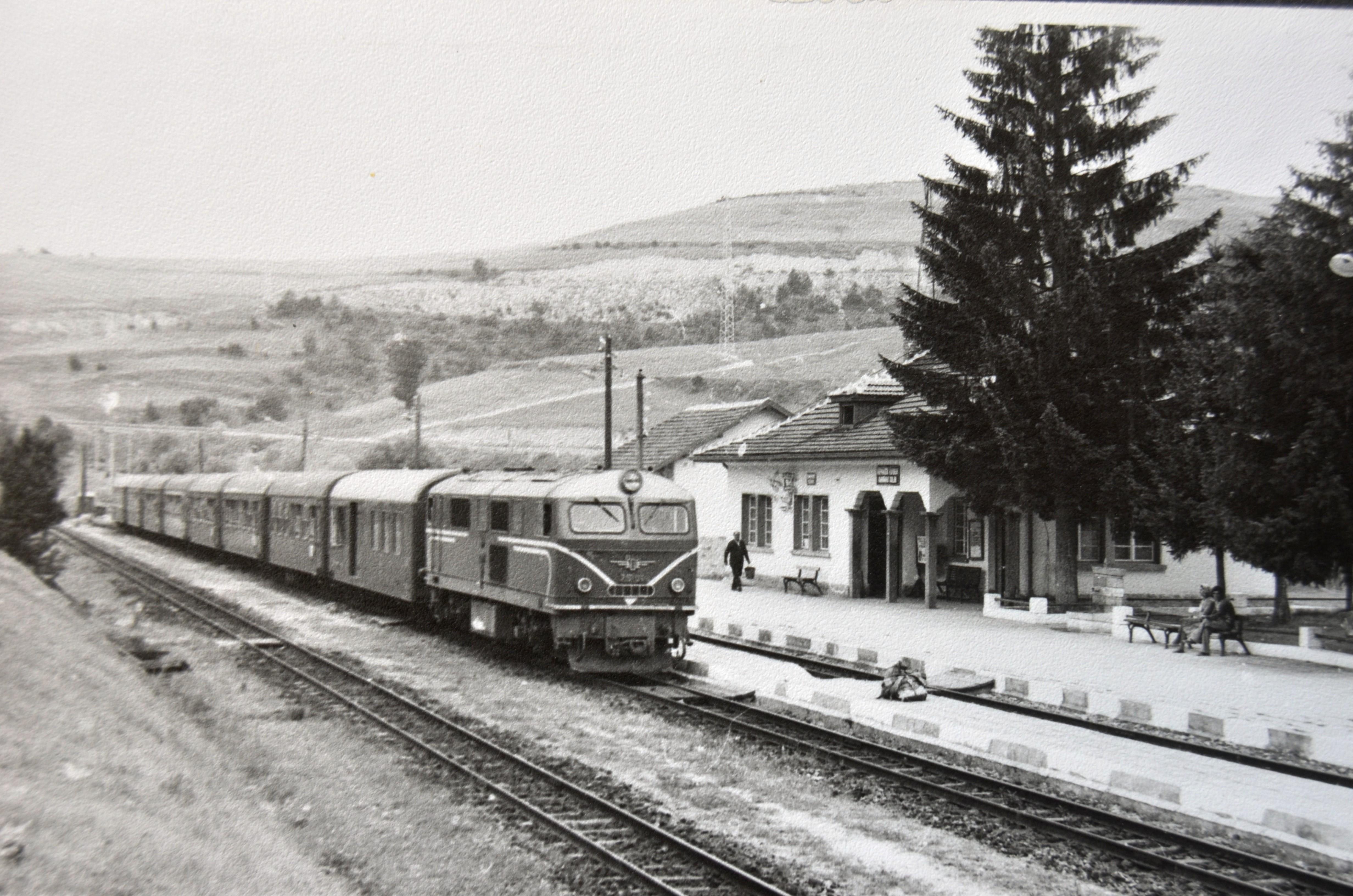 """Влак """"Родопи"""" на Аврамови колиби"""