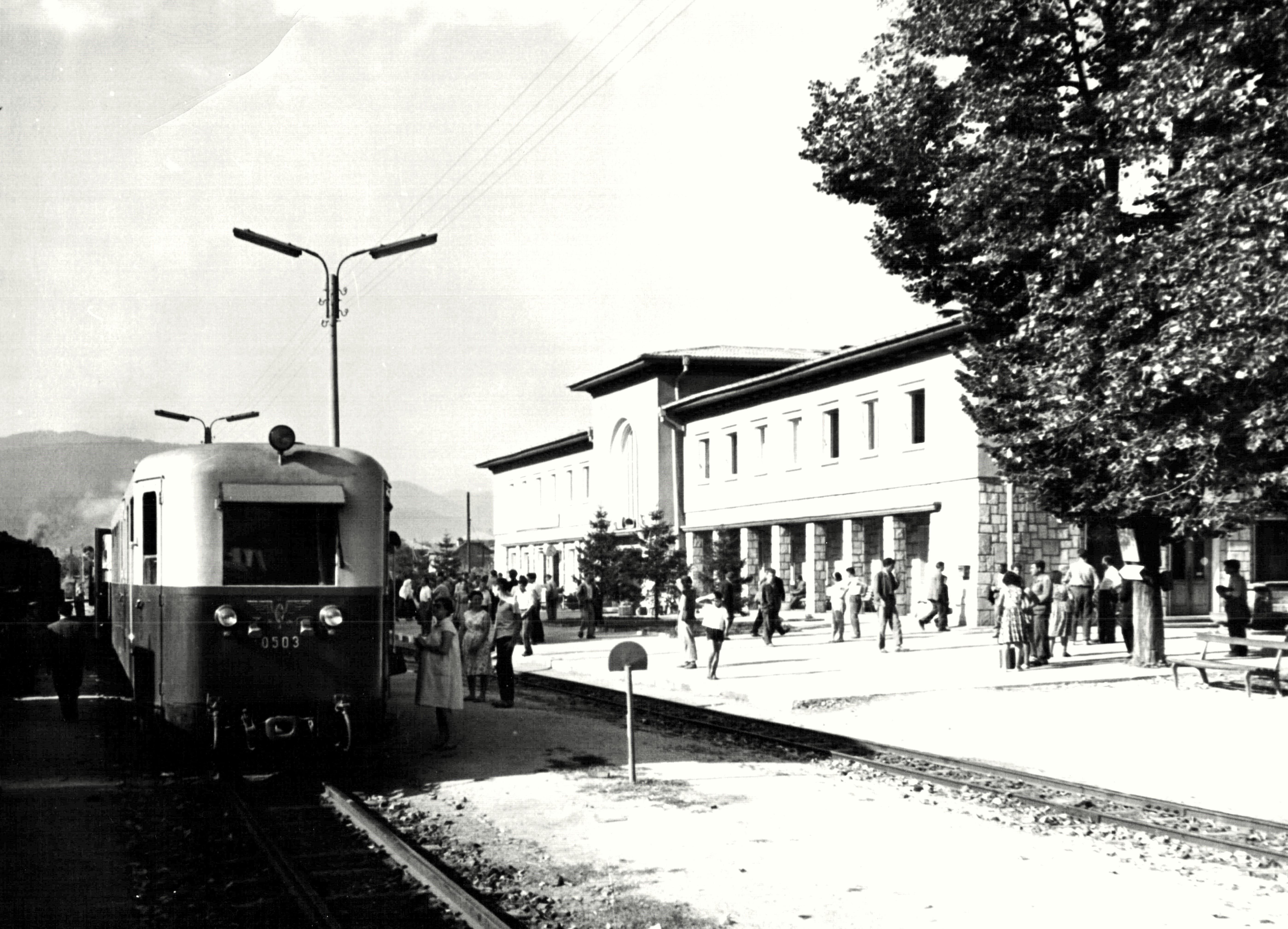 Гара Велинград, 1963 година