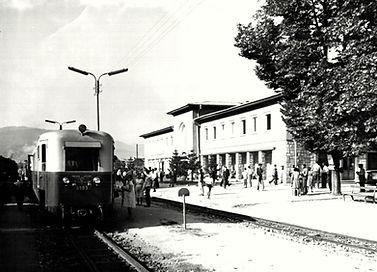 мотриса гара Велинград 1963 теснолинейка септември добринище бдж