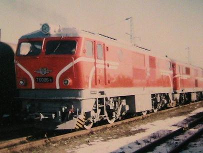 76 006 локомотив серия дизелов теснолинейка септември добринище бдж