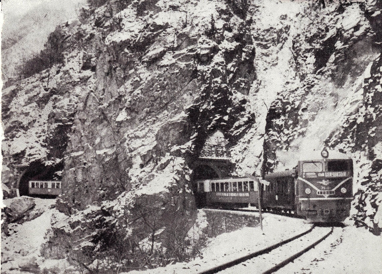 Първият влак с дизел, 1966 г.