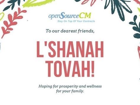 Shana Tova - Happy New Jewish Year
