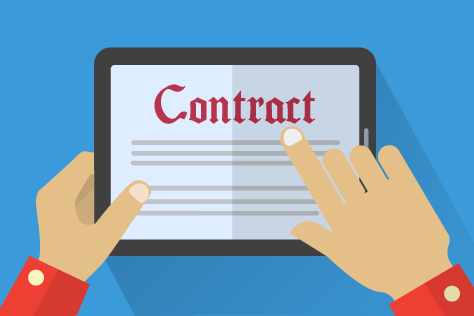 Contract Managment template management means data integrity assurance