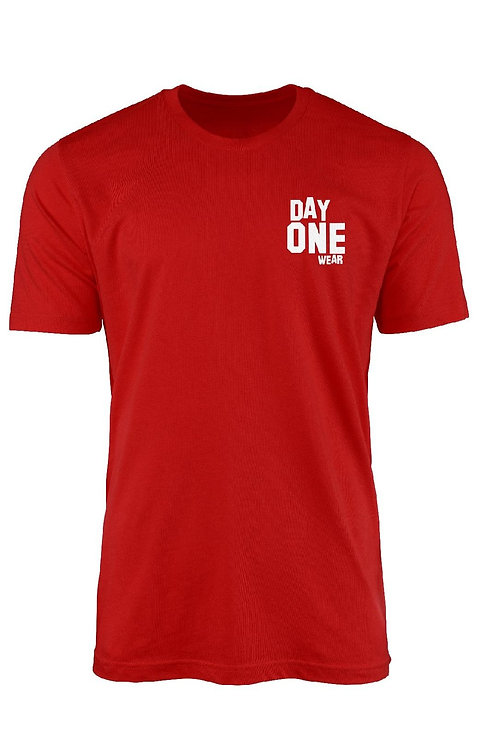 Red Day One Wear T-Shirt