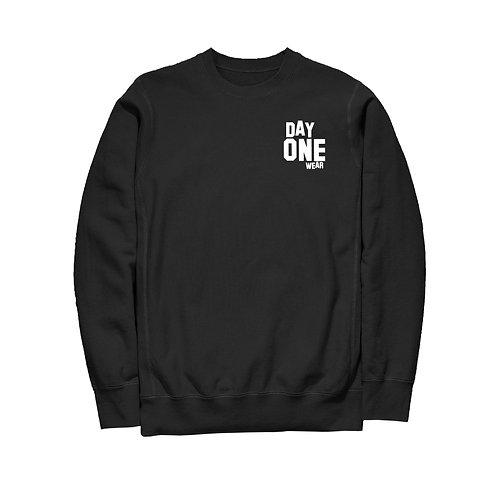 Black Day One Wear Crew Neck Sweatshirt