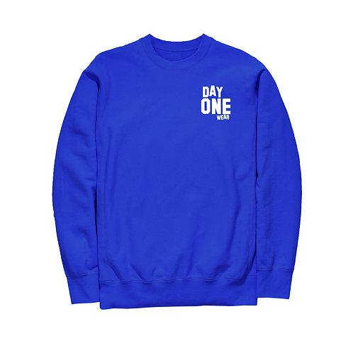 Royal Blue Day One Wear Crew Neck Sweatshirt