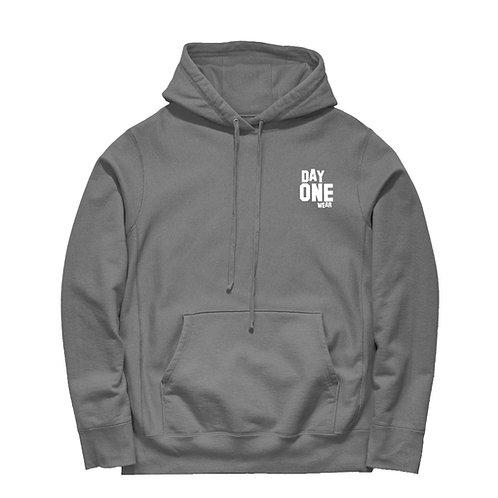 Grey Day One Wear Hoodie