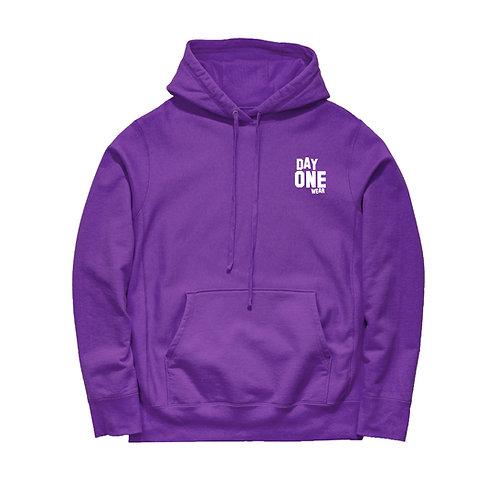 Purple Day One Wear Hoodie