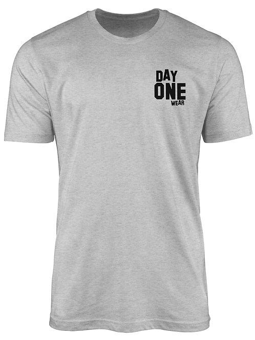 Heather Grey Day One Wear T-Shirt