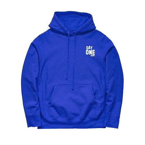 Royal Blue Day One Wear Hoodie