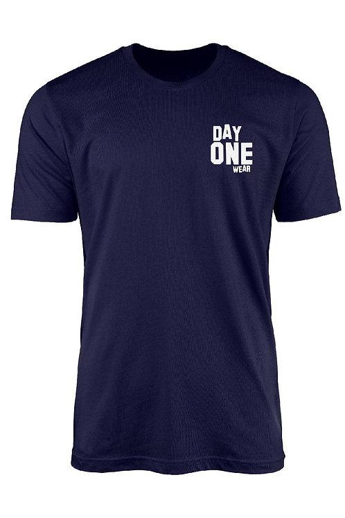 Navy Blue Day One WearT-Shirt
