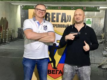 Гоша Куценко на тренировке в Веге