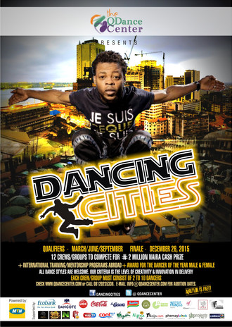 QDance Center Presents Dancing Cities. Apply Now.