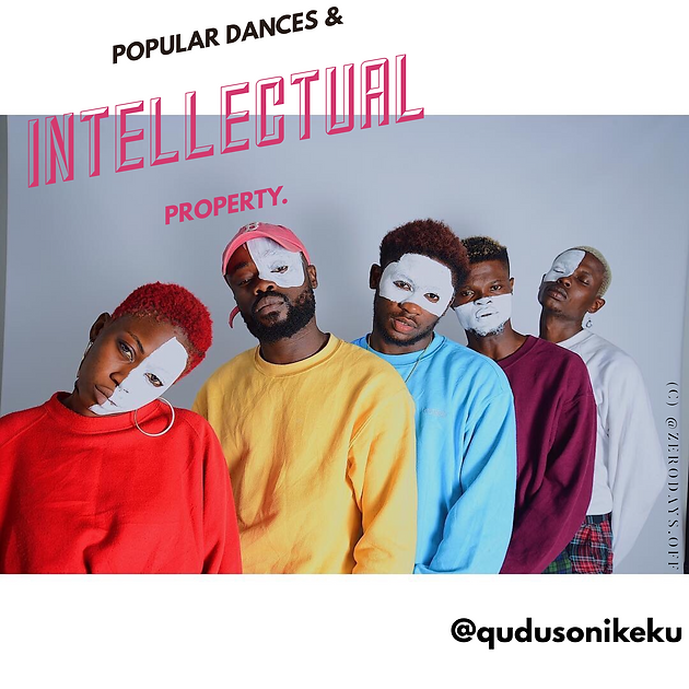Popular dances and intellectual property  | The QDanceCenter