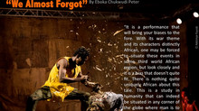 "A review of Qudus Onikeku's ""We almost forgot"""
