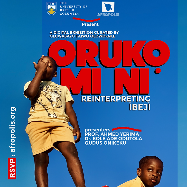 Oruko Mi Ni [reinterpreting ìbejì]