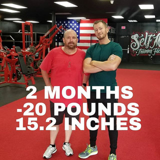 Rob is still crushing it! Down 20 pounds