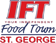 independent food town st george logo