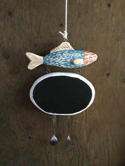 特注/四月の魚 出店用サイン