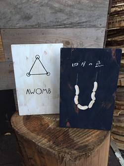 AWONB , 四月の魚 sign