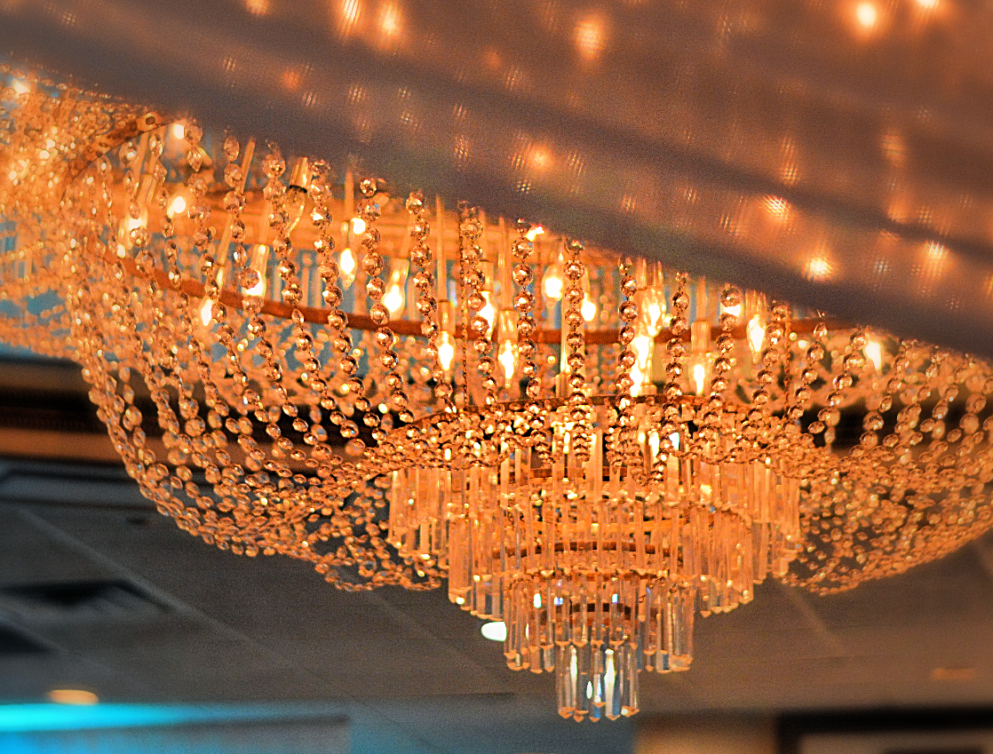 Our majestic Chandeliers
