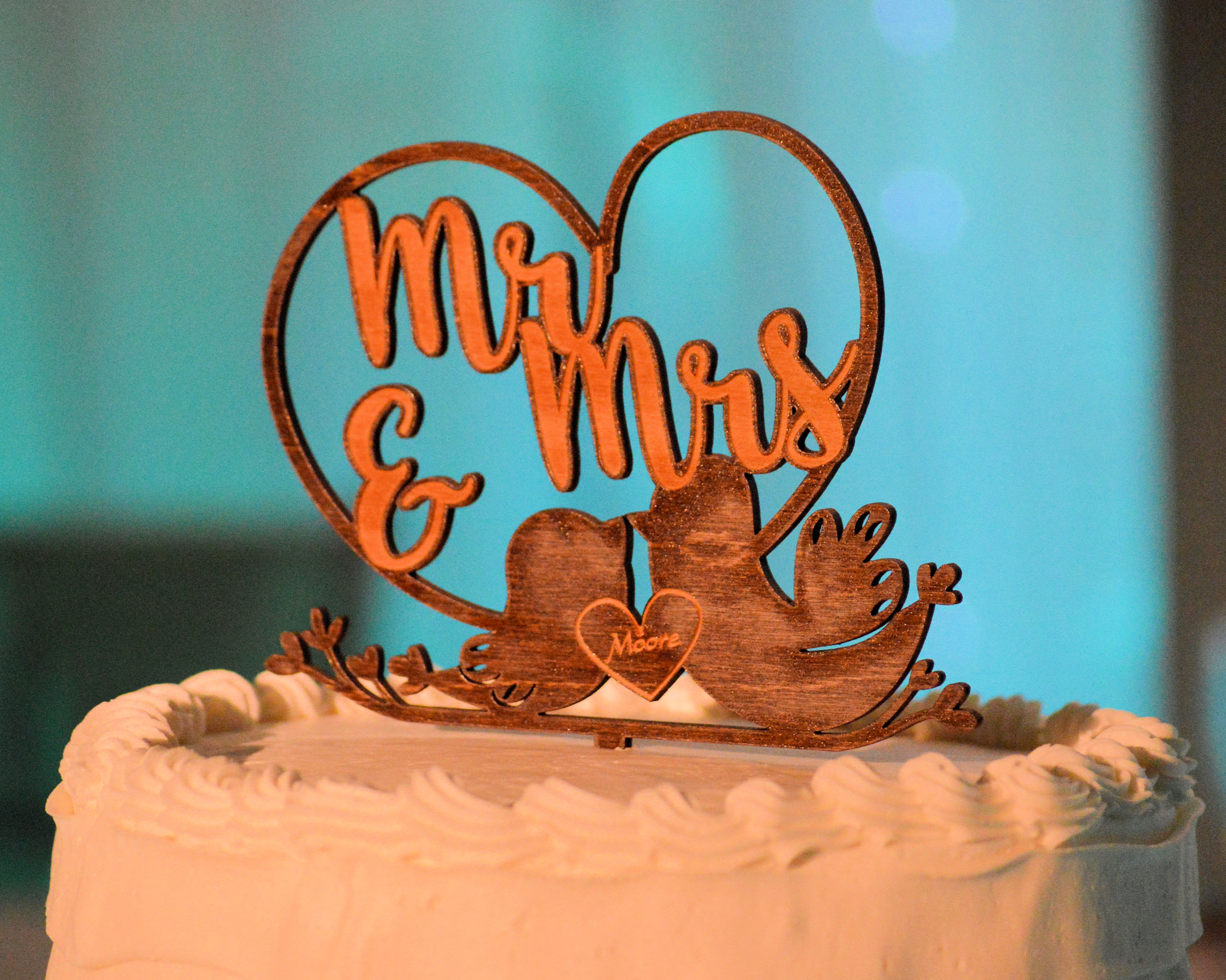 Oyster Cake Topper