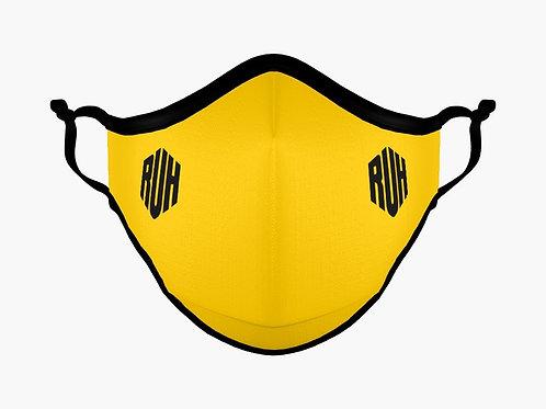 "RUH ""MINIMALIST"" Face Mask (Yellow)"