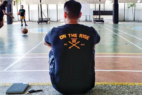 """On The Rise"" Strength Training Tee"