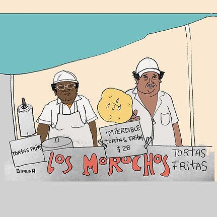 Receta Ilustrada - Los Morochos Tortas Fritas | Mandarina Cocina