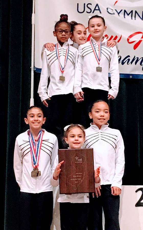 North Stars Gymnasts Compete at 2017 NJ Xcel State Championship
